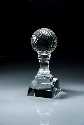 CRY151 Crystal Golf Ball on Tee